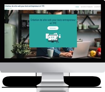 Création de site web pour Auto-entrepreneur, artisan et TPE